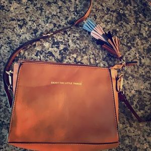 Melie Bianco vegan leather boho purse